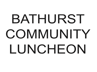 Bathurst Community Luncheon